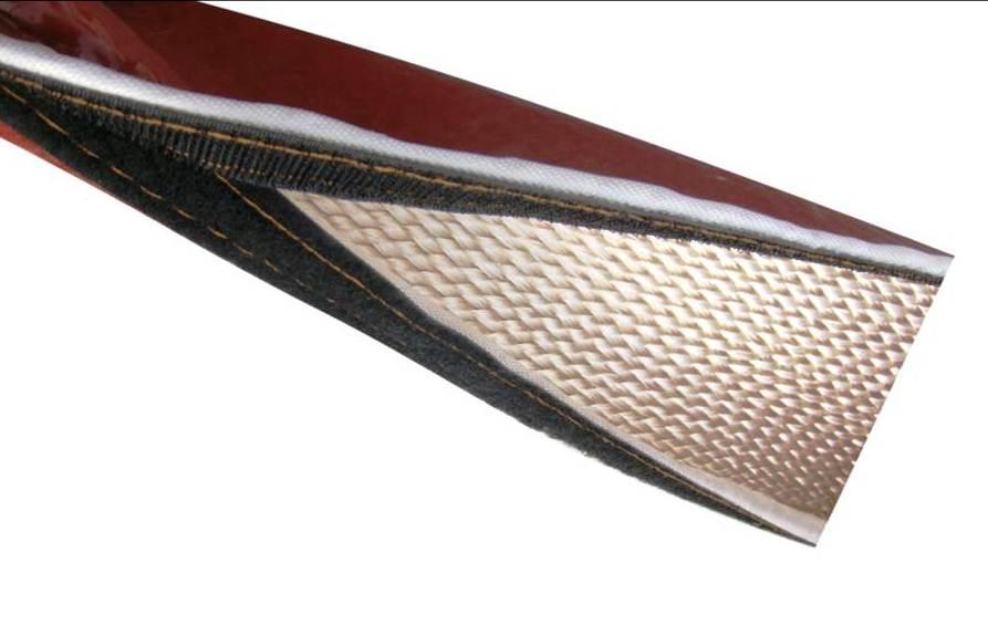 拆卸式硅胶玻璃纤维套管